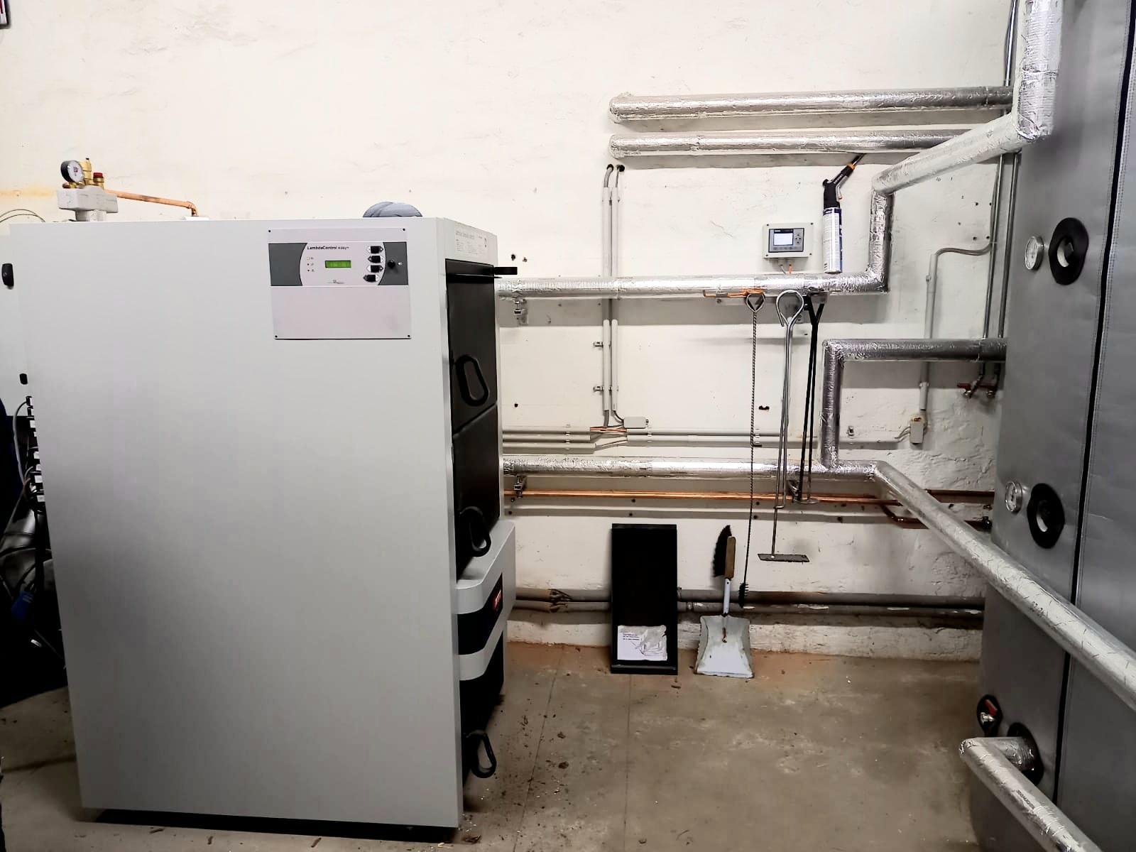 Meterscheitkessel 70 kW