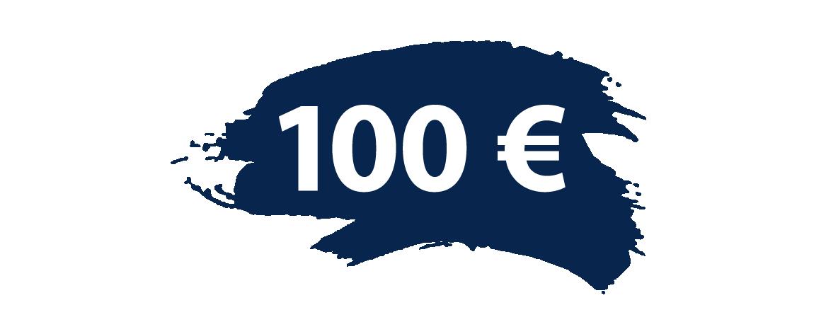 100,- Prämie für erfolgreich geworbene Kunden